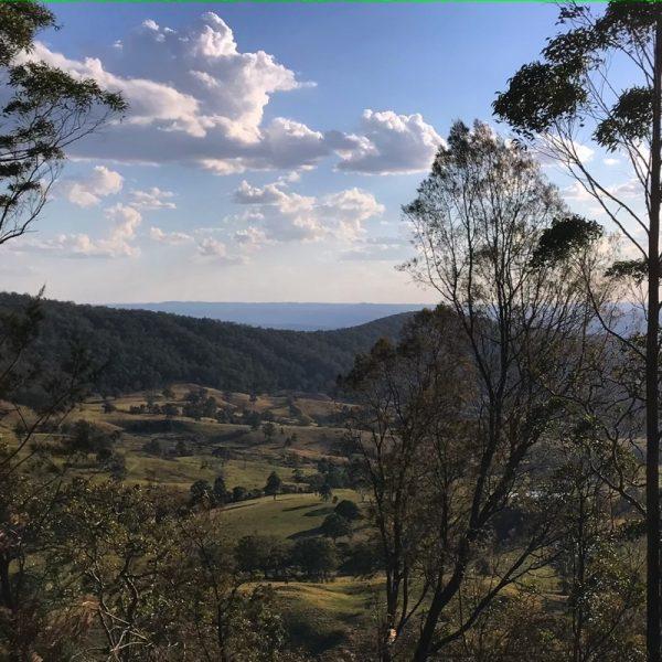 The far horizon, Tenterfield hinterland, NSW. Photo Linda Saul