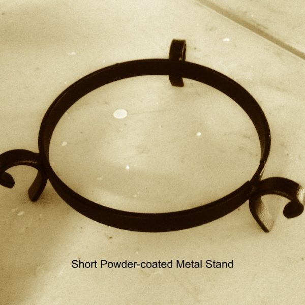 Short Steel Stand suitable for both large and small lanterns.