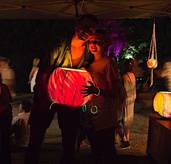 The carefully blended waxes in our lanterns have a melting point of 80°c, making them safe, versatile and long lasting. Photo by Frank Gumley