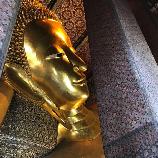 Reclining Buda Bangkok, Thailand. Photo by Linda Saul