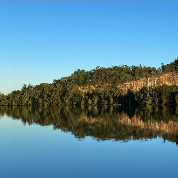 Morning calm on the Clarence River, NSW. Photo by Linda Saul