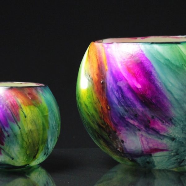Twin-set. Planet series - Mercury design Photo by Integrity Candles.