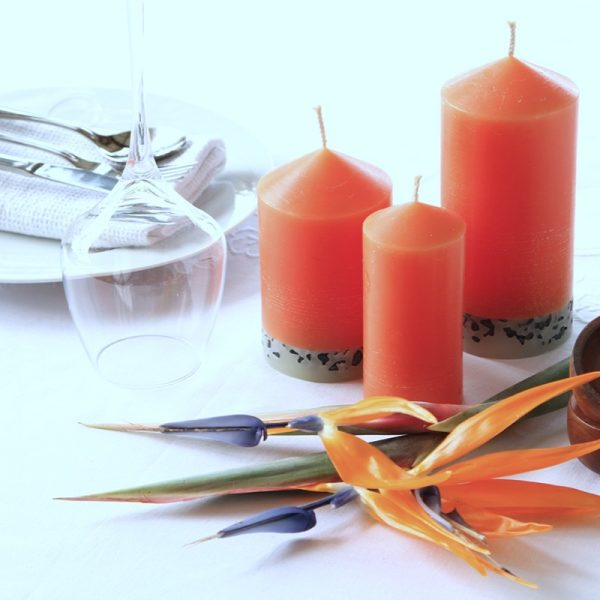 Quality crafted long burning candles enhance any occasion Photo Luke Brown