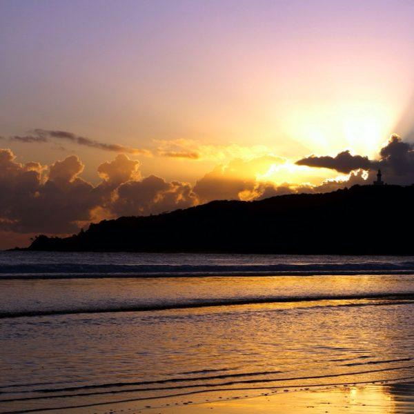 Byron Bay Sunrise. Photo by Frank Gumley