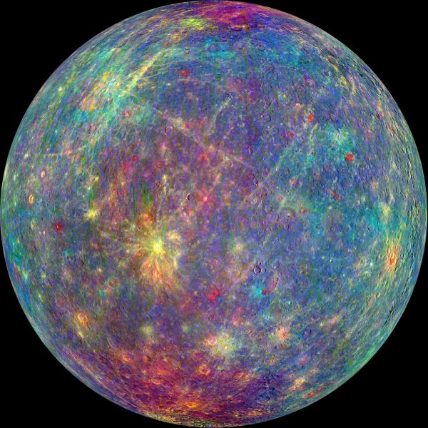 Mercury is the smallest planet and the closest to the Sun in our solar system. With no moons and no substantial atmosphere, temperatures reach a scorching 450℃ and plummet to -170℃, more than 600℃ variation, the greatest in the solar system. Photo: NASA/Johns Hopkins University Applied Physics Laboratory/Carnegie Institution of Washington.